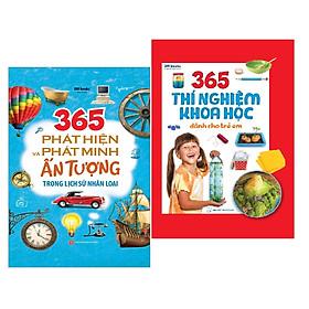 Sách: 365 Thí Nghiệm Khoa Học Dành Cho Trẻ Em +365 Phát Hiện Và Phát Minh Ấn Tượng Trong Lịch Sử Nhân Loại