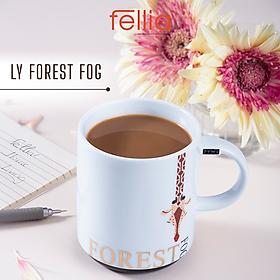 Ly sứ Forest Fog Fellia cao cấp có nắp đậy phong cách hiện đại _FEL10620