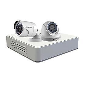 Bộ  2 camera chính hãng Hikvision  HD720P