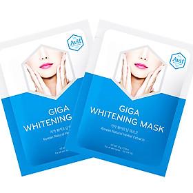 Combo 2 mặt nạ Avif dưỡng da trắng ngọc - ngà - Avif giga whitening mask 21g