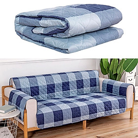 Thick Quilted Sofa Couch Cover Slipcover Pad Pet Protector