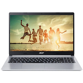Laptop Acer Aspire 5 A515-55G-5633 NX.HZFSV.002 (Core i5-1035G1/ 8GB (4GB + 4GB Onboard) DDR4 2400MHz/ 512GB SSD M.2 NVMe/ MX350 2GB/ 15.6 FHD IPS/ Win10) - Hàng Chính Hãng