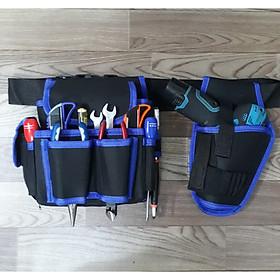 Combo túi đựng dụng cụ đồ nghề đeo hông cao cấp