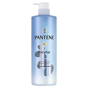 Dầu Gội Pantene Pro-V Micellar Làm Sạch Sâu Chiết xuất Tảo biển 530 ml