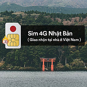 A&H -  Sim Du Lịch Quốc Tế Đi Nhật Bản không giới hạn tốc độ 4G Liên Tục - Đăng ký theo ngày sử dụng của khách hàng