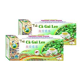 Combo 5 Hộp Trà Cà Gai Leo Giải Độc Gan (Hộp 50 Túi Lọc X 2g)- Nguyên Thái Trang – Thảo Dược Thiên Nhiên – Tốt Cho Sức Khỏe