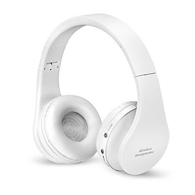 Bluetooth Over-Ear Headphones Foldable Wireless and Wired Headset Over Ear Sport Earphone with Microphone