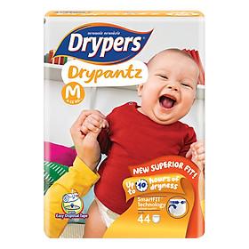 Tã Quần Drypers Drypantz Gói Đại M44 (44 Miếng)