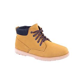 Giày Boot Da Lộn Zapas GB002YE - Nâu Vàng