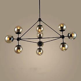 Đèn thả 10 chao thủy tinh phân tử RB LIGHTING