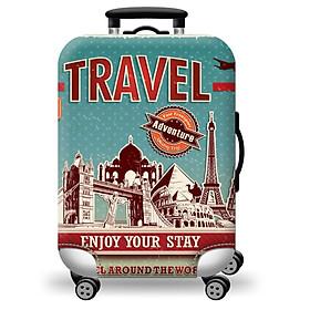 Túi bọc bảo vệ vali -Áo vỏ bọc vali - Adventure