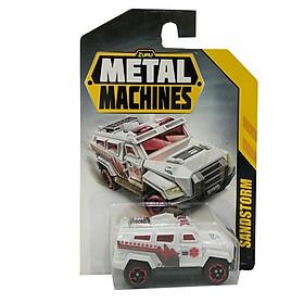 Đồ Chơi Xe Đua Tốc Độ 3 Inch Zuru Metal Machines 6708 - Sandstorm - Màu Trắng