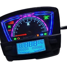 Đồng hồ điện tử xe dream plus