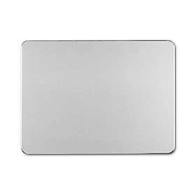 Metal Mouse Pad Aluminum Alloy Mouse Mat Ultra-thin Anti-slip Wear-resistant Scratch-resistant Mouse Pad Silver