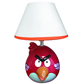 Đèn gốm sứ trang trí Điện Quang ĐQ DL13 WW (Thân hình chim đỏ, bóng Led 5W, warmwhite)
