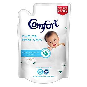 Nước Xả Vải Comfort Cho Da Nhạy Cảm (1.6L/Túi) - Phù Hợp Với Làn Da Em Bé (Giao mẫu ngẫu nhiên)