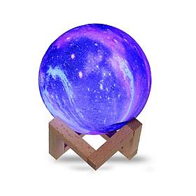 Đèn LED Mặt Trăng 3D Trang Trí Kèm Đế Đỡ