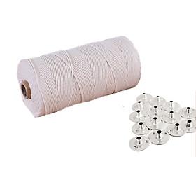 Combo bấc nến cotton và đế kẹp dùng làm nến thơm cao cấp, tặng mẫu thử tinh dầu Kobi
