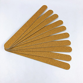 Set 15 cây dũa móng tay - 2 mặt giấy nhám 120/120