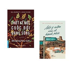 Combo 2 cuốn sách: Thiết Kế Một Cuộc Đời Đáng Sống + Một ý niệm khác về hạnh phúc (TÁI BẢN)