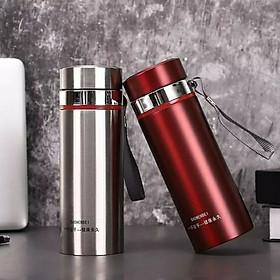Bình giữ nhiệt inox cao cấp  dung tích 1000ml có nắp lọc trà