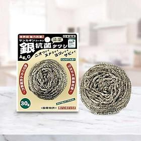 Bối thép bạc kháng khuẩn Nhật Bản FOREVER 30g - 2 chiếc