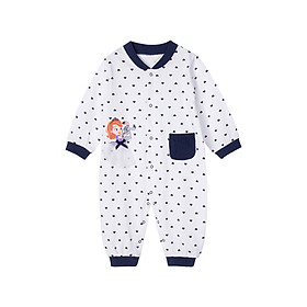 Hình đại diện sản phẩm Disney baby cotton printed front long sleeve jumpsuit newborn baby romper romper out of service 191L775 Navy 9 months / height 73cm