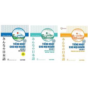 Combo 3 Cuốn Minna no Nihongo Sơ Cấp 2 Tiếng Nhật Cho Mọi Người: Bản Tiếng Nhật + Bản Dịch Và Giải Thích Ngữ Pháp - Tiếng Việt + Tổng Hợp Các Bài Tập Chủ Điểm (Sách Nâng Cao Trình Độ Tiếng Nhật Nhanh Nhất Cho Người Việt / Tặng Kèm Bookmark Happy Life)