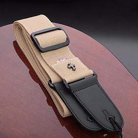 Dây Đeo Đàn Guitar Điện Trang Trí Hình Chữ Thập Longteam
