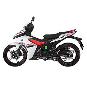 Xe Máy Yamaha Exciter 155 VVA phiên bản tiêu chuẩn 2021 - Trắng đỏ đen