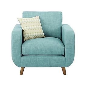 Ghế sofa đơn dùng để thư giãn, nghỉ ngơi, đọc sách - kèm gối ôm nhỏ SDDP05