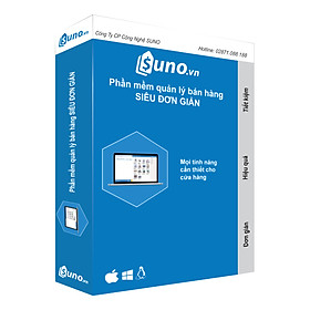 Phần mềm quản lý bán hàng SUNO.vn - Hàng Chính Hãng