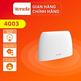 Tenda Bộ phát Wifi di động 4G LTE 4G03 - Hàng Chính Hãng