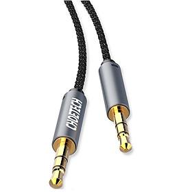 Dây cáp âm thanh AUX Audio 3.5mm hiệu CHOETECH AUX002 truyền tải âm thanh chất lượng cao - Hàng chính hãng