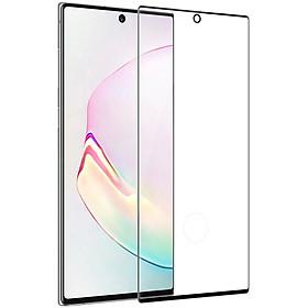 Miếng dán cường lực 3D full màn hình cho Samsung Galaxy Note 10 / Note 10 5G hiệu Nillkin CP + Max ( Mỏng 0.23mm, Kính ACC Japan, Chống Lóa, Hạn Chế Vân Tay) - Hàng chính hãng