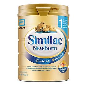 Sữa Bột Cho Bé Similac Newborn Eye-Q 900g Gold Label
