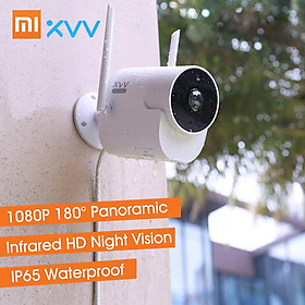 Xiaomi Youpin Xiaovv Outdoor Panoramic Camera 1080P HD Home Security Surveillance Camera With Mi Home APP