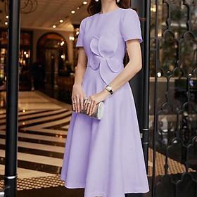 Đầm dự tiệc hoa eo TRIPBLE T DRESS - Size S/M/L/XL (kèm ảnh/video thật) MS82Y