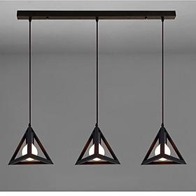 Bộ đèn thả bàn ăn PALETE kiểu dáng độc đáo trang trí nội thất - kèm bóng LED và đế ốp trần