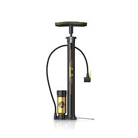 Bơm xe máy, xe đạp bóng khí có bình nén áp lực hơi mạnh, hiện thị đồng hồ đo áp suất , đầu bơm có thể thay thế, thiết kế nhỏ gọn, dễ dàng sử dụng TH9000