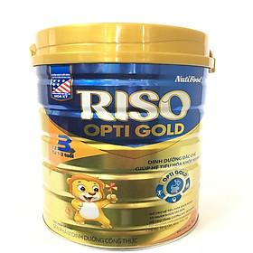 Riso opti gold 3 - dinh dưỡng đặc chế giúp hệ tiêu hóa khỏe mạnh 900gr-0