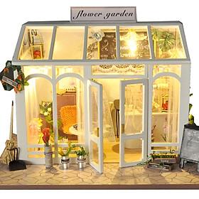 Nhà Búp Bê lắp ghép Tiệm Hoa Flower Garden TYU
