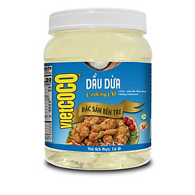 DẦU DỪA VIETCOCO - COOKING OIL 1600 ML