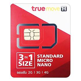 Sim 3G/4G True Move Du Lịch Thái Lan - Hàng Chính Hãng