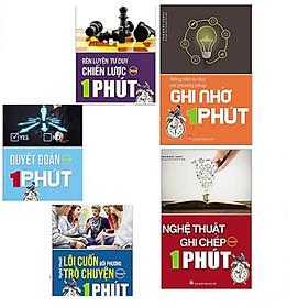 Combo bộ 5 cuốn sách rèn luyện kĩ năng tư duy : Rèn Luyện Tư Duy Chiến Lược  + Quyết Đoán  + Nghệ Thuật Lôi Cuốn Đối Phương Trò Chuyện  + Nâng Tầm Tư Duy Với Phương Pháp Ghi Nhớ  + Nghệ Thuật Ghi Chép