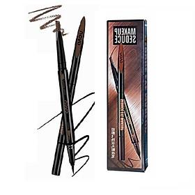 Chì Kẻ Mày 2in1 NoVo Makeup Seduce (Kẻ Mày + Kẻ Mắt):Màu 2