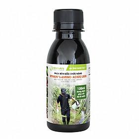 Phân bón gốc Rynan L-Amino Acids L500 (chai 120ml) - Kích thích rễ, tăng đề kháng, giải độc và hạ phèn cho đất