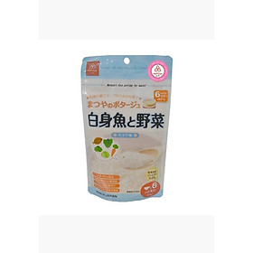 Cháo gạo Koshihikari vị cá trắng và rau ( 60g) dành cho bé từ 6 tháng