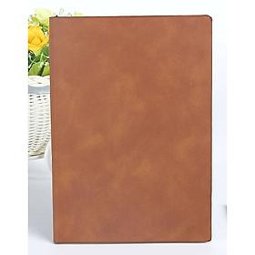 Sổ tay bìa da Classic da lộn A5 100 trang