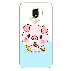 Ốp lưng dẻo cho Samsung Galaxy J2 Pro_Pig 03